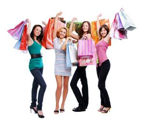 Despedidas de solteras de compras