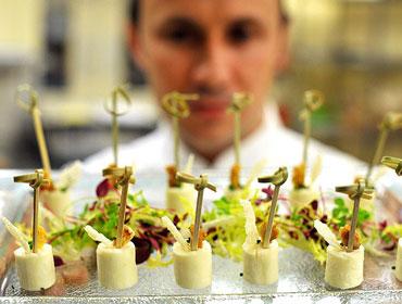 catering para bodas chef