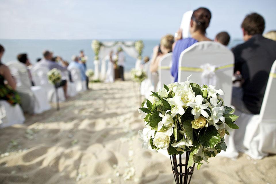 organizar bodas en la playa