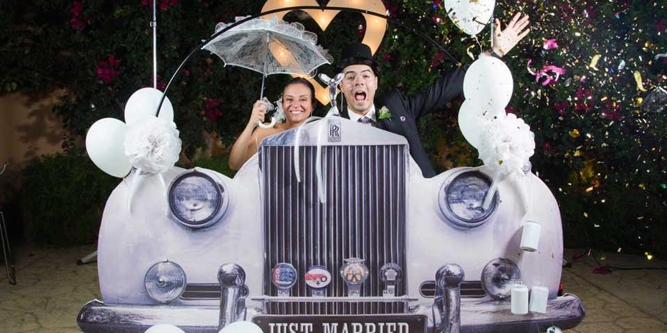 consideraciones para elegir un photocall para bodas